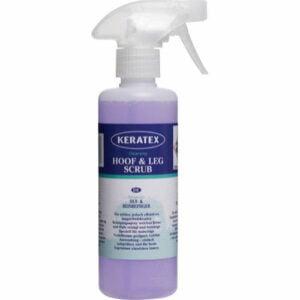 Hov och benspray som är effektiv vid smutsiga, leriga förhållanden. Produkten skummar vid kontakt vilket underlättar användningen.
