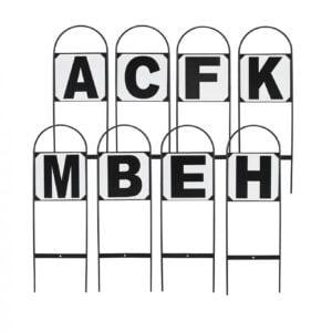 dressyr bokstäver
