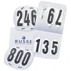 Busse Nummerlappar paket