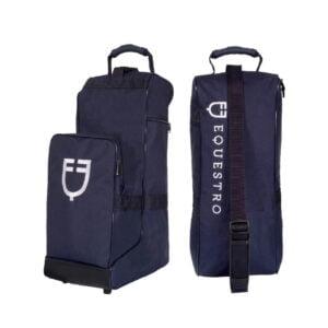 Stövel och hjälm väska